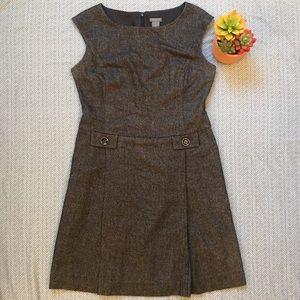 Ann Taylor Petite Tweed-looking Dress